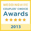 weddingwire award 2013