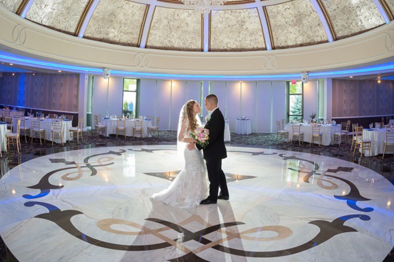 Wedding reception photoshoot